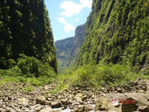 Canion Itaimbezinho - Rio do Boi