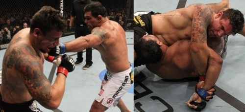 Antô Nogueira, o Minotauro vs Frank Mir