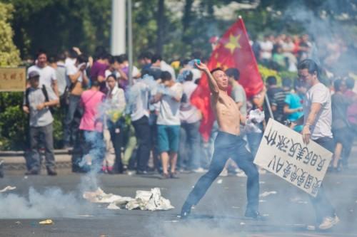 Protestos anti-Japao na China por causa das Ilhas Senkaku
