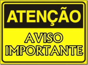 Atenção - Aviso Importante