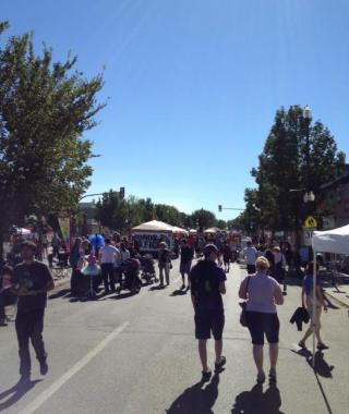 Broadway Street Fair de Saskatoon, Canadá