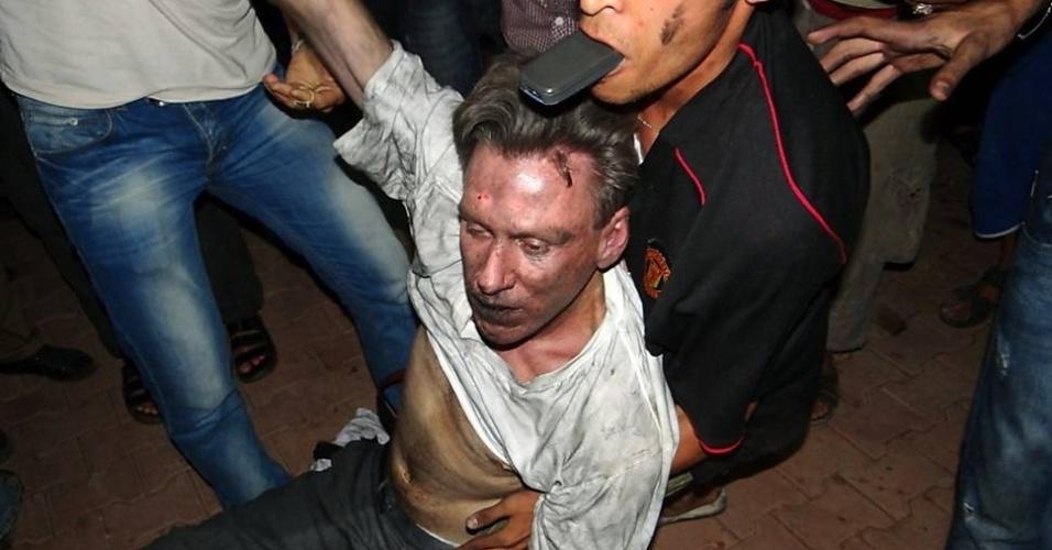 Resgate embaixador dos EUA na Líbia, Christopher Stevens