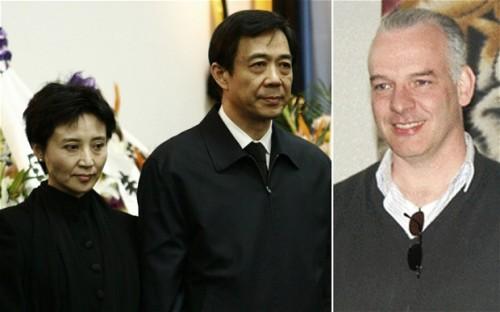 Gu Kailai, Bo Xilai e Neil Heywood
