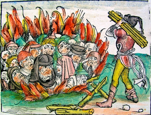 Fogueira de judeus