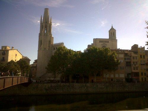 Cidade de Girona na Espanha