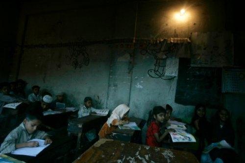sala  de aula no Paquistão