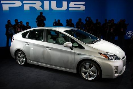 Automóvel híbrido Toyota Prius