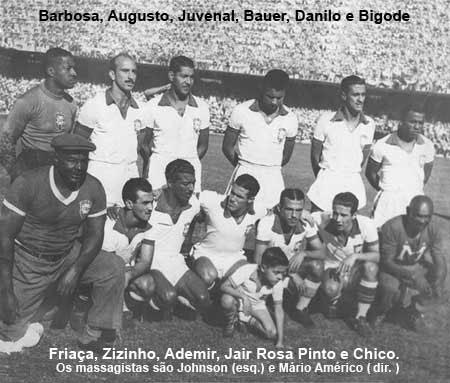 Seleção Brasileira de Futebol - 1950