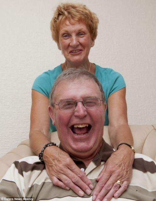 Malcolm Myatt com sua esposa Kath