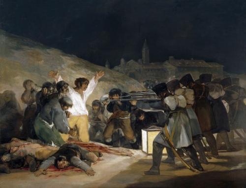 A Execução dos Defensores de Madrid [Francisco Goya]