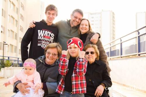 Foto da minha família (São Paulo, julho de 2013)
