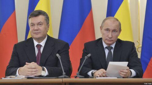 Viktor Yanukovytch e Vladimir Putin