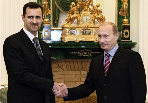 Bashar al-Assad e Vladimir Putin