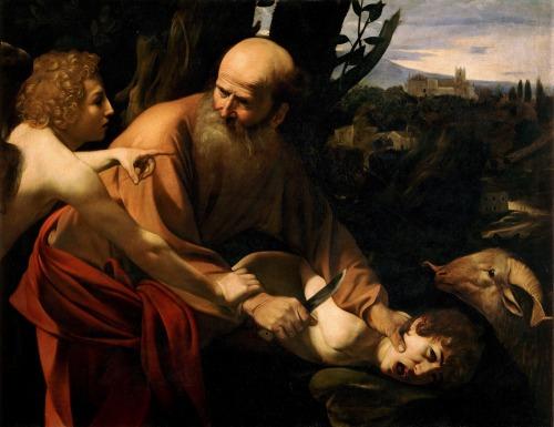"""O Sacrifício de Isaac"" de Caravaggio"