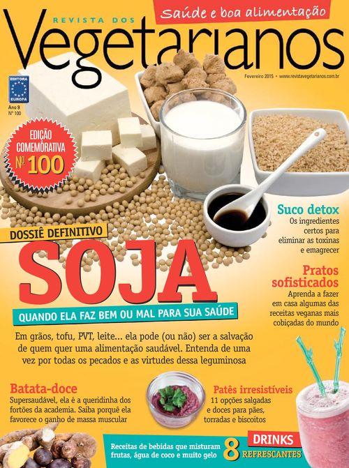 Capa da Revista dos Vegetarianos, nº100