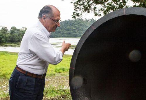 Geraldo Alckmin dá início a obra de interligação de sistemas [Fonte: site do El País]