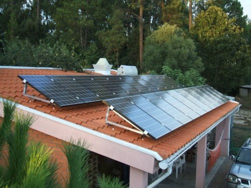 Painel solar fotovoltaico residencial