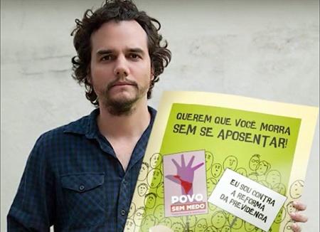 Wagner Moura_reforma Previdencia