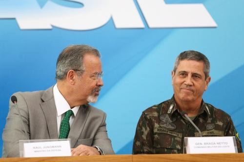 Ministro_Raul_Jungmann_General_Walter_Braga_Netto